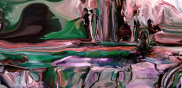 Sherri Of Palm Springs - abstract A Time And A Different Place