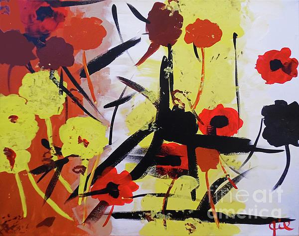 Jilian Cramb - AMothersFineArt - Abstract Flowers