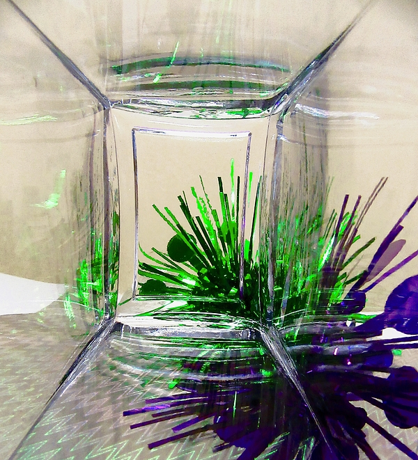 Stephanie Moore - Abstract in Purple and Green