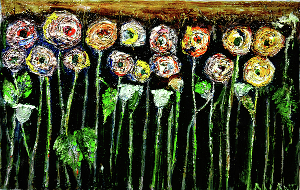 Anand Swaroop Manchiraju - Abstract Roses