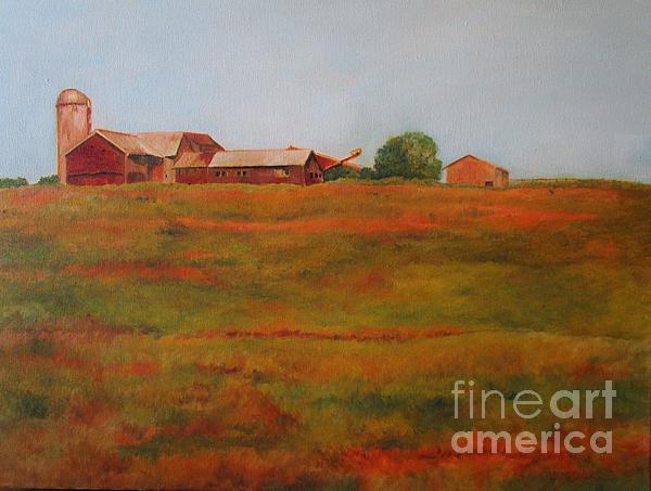 Barbara Moak - Adirondack Farm in Upstate NY