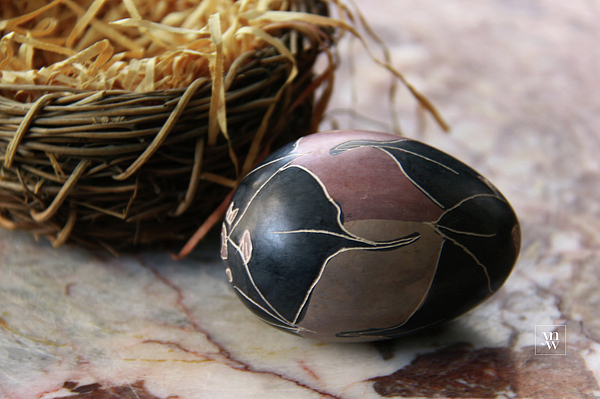 Yvonne Wright - African Easter Egg