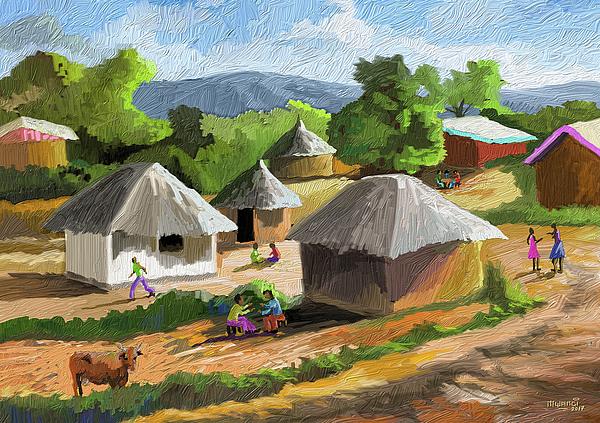 Anthony Mwangi - African Rural Life
