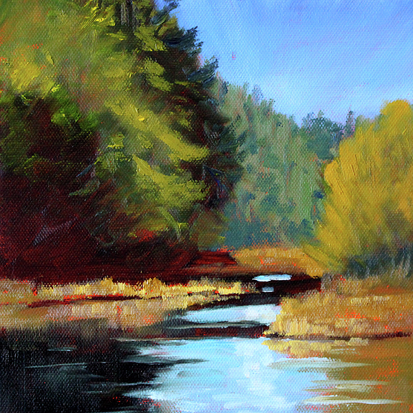 Nancy Merkle - Afternoon on the River