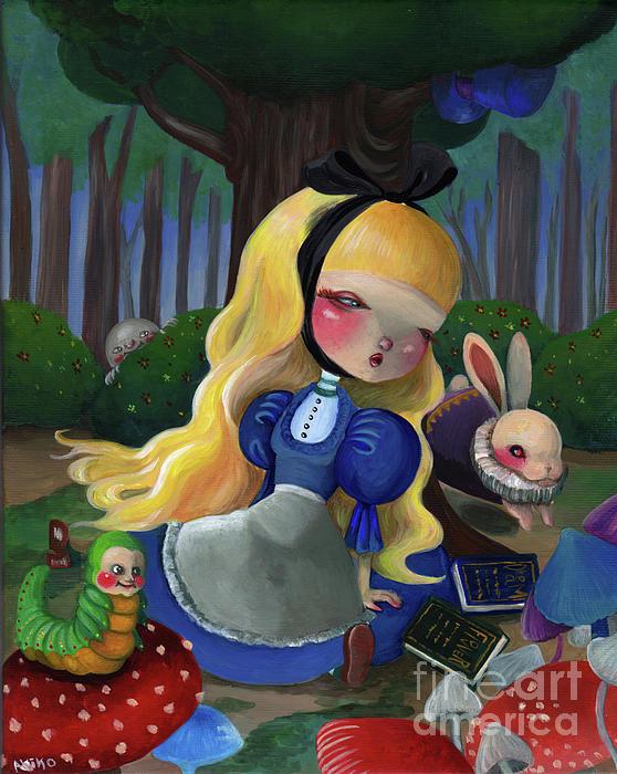 Akiko Okabe - Alice in wonderland