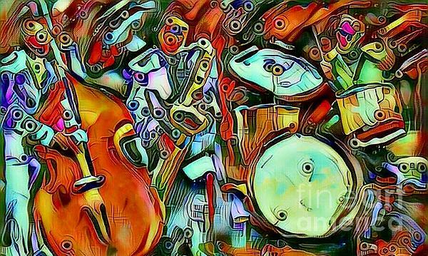 Beverly Elliott - Alien Jazz Band
