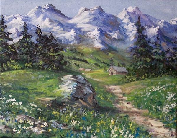 Megan Walsh - Alpine Splendor