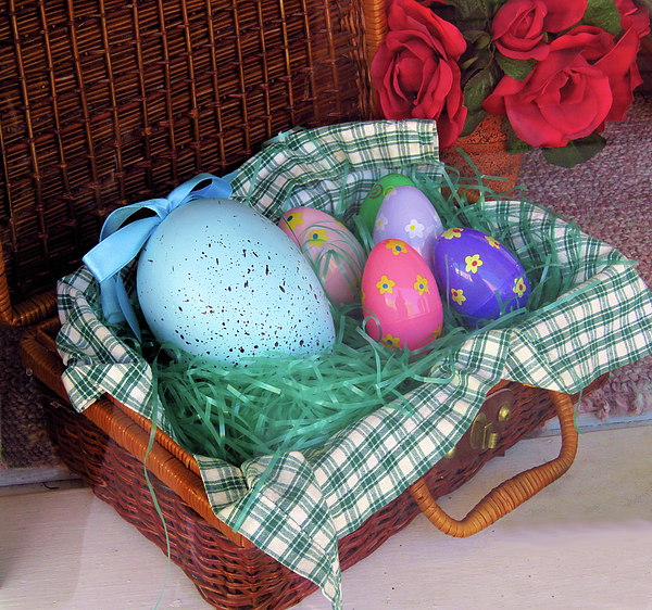 Rosalie Scanlon - Antique Easter Basket