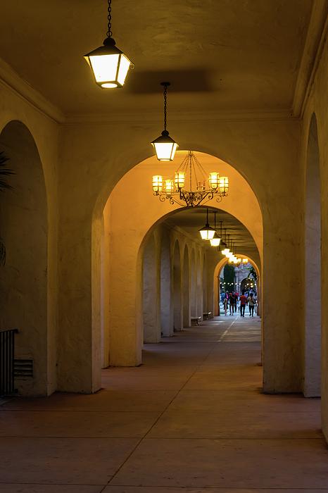 Robert VanDerWal - Arched Pathway in Balboa Park