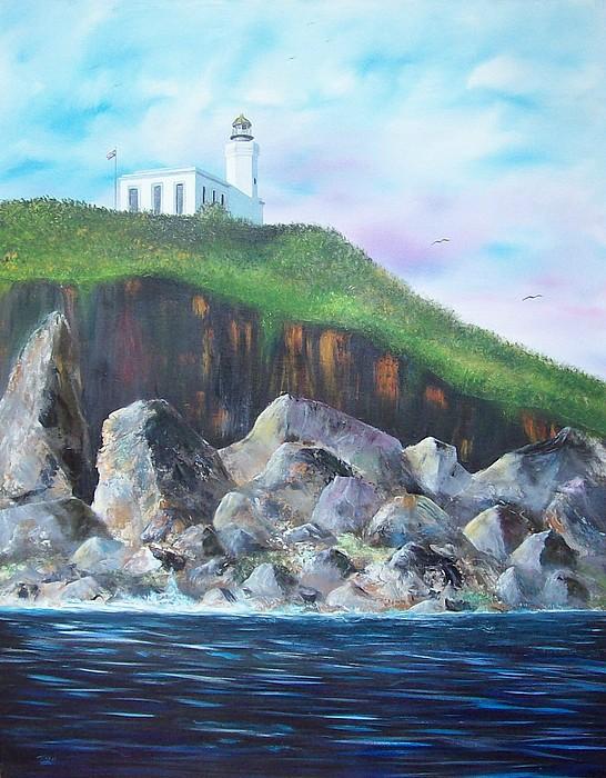Arecibo Lighthouse Painting