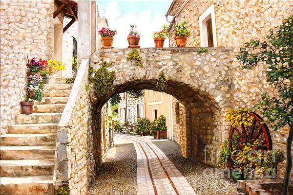 Dominique Amendola - Aspremont village In Provence