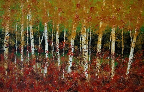 Debra Kent - Autumn Birch