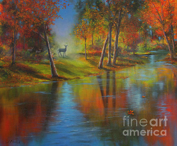 Jeanette French - Autumn Reflections