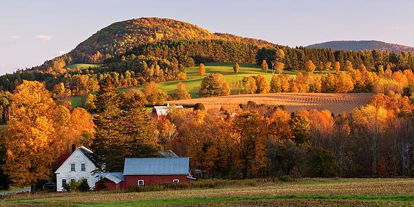 Alan L Graham - Autumn Sunset Landscape