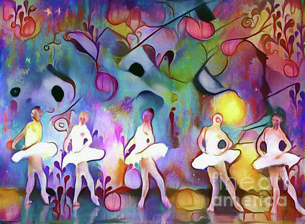 Nina Silver - Ballerinas in The Garden