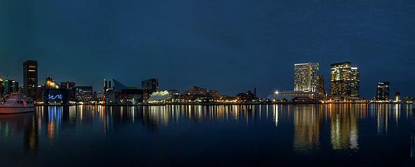 Sharon Horn - Baltimore Harbor Pano