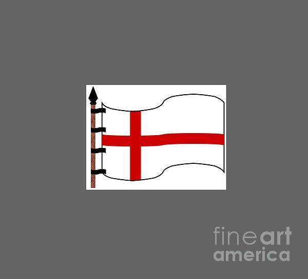 Bandera Templaria Digital Art