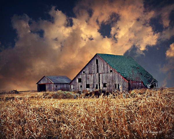 Kathy M Krause - Barn Surrounded With Beauty