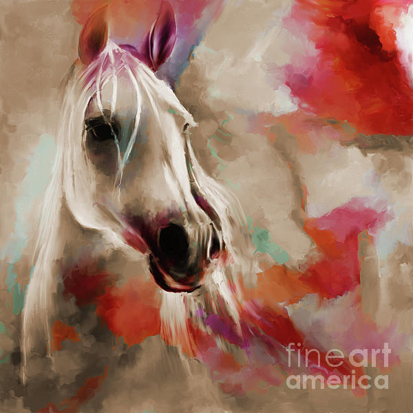 Gull G - Beautiful Abstract Horse 03