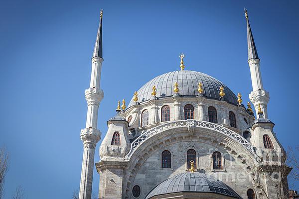 Anna Soelberg - Beautiful Nusretiye Mosque, Istanbul, Turkey