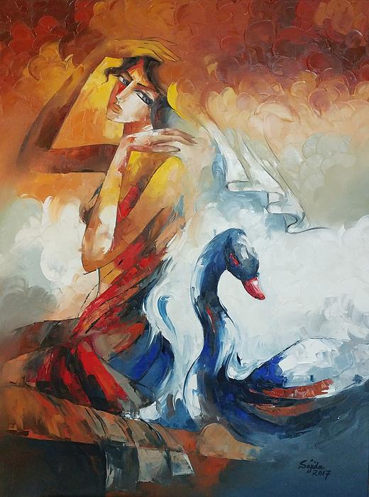 Sajida Hussain - Beauty And The Swan
