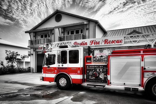 Mel Steinhauer - Big Red Fire Truck