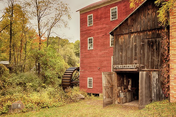 Susan Rissi Tregoning - Blacksmith Shop at Bowens Mills