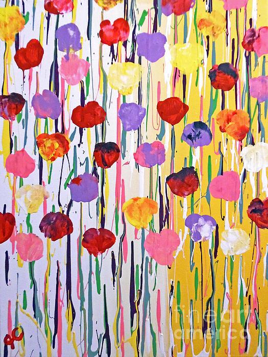 Jilian Cramb - AMothersFineArt - Bleeding Tulips