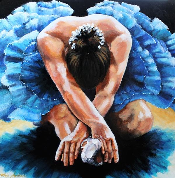 Misha Ambrosia - Blue Ballerina