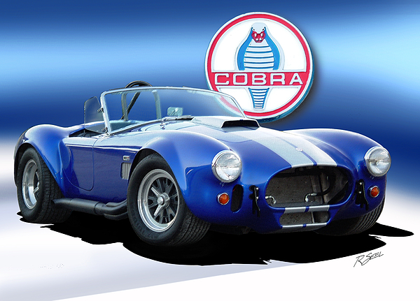 Rod Seel - Blue Cobra