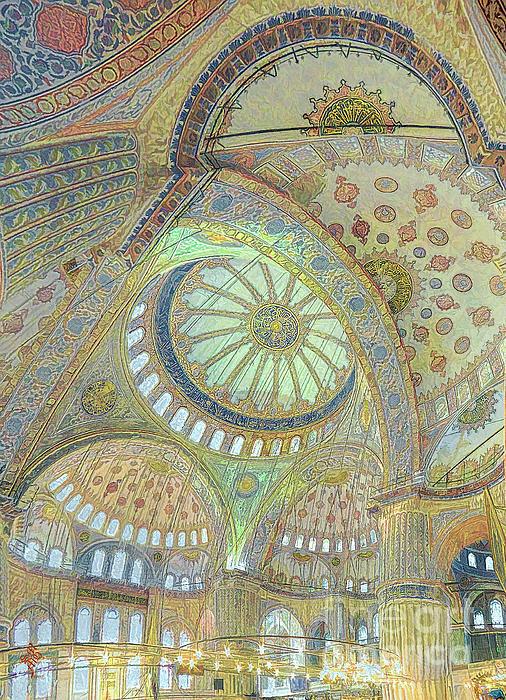 Syed Muhammad Munir ul Haq - Blue Mosque Geometry