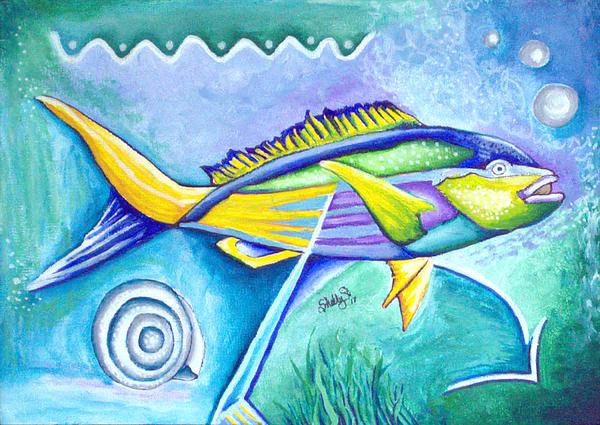 Shelly tschupp website for Yellow rainbow fish