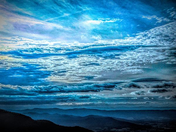 Arlane Crump - Blue Skies Over the Blue Ridge - Virginia