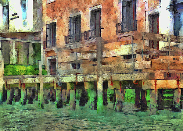 Reese Lewis - Boat Dock In Venice