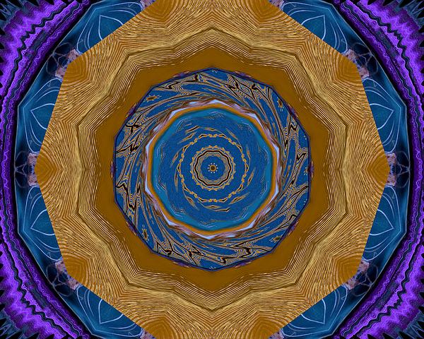 Bohemian Kaleidoscope Digital Art
