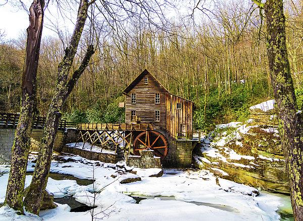 Norma Brandsberg - Winter Babcock State Park Gristmill