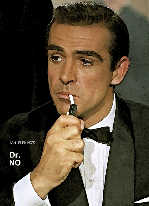 Bond James Bond Sean Connery Greeting Card For Sale By Thomas Pollart
