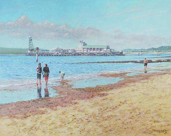 Martin Davey - Bournemouth Pier late summer morning