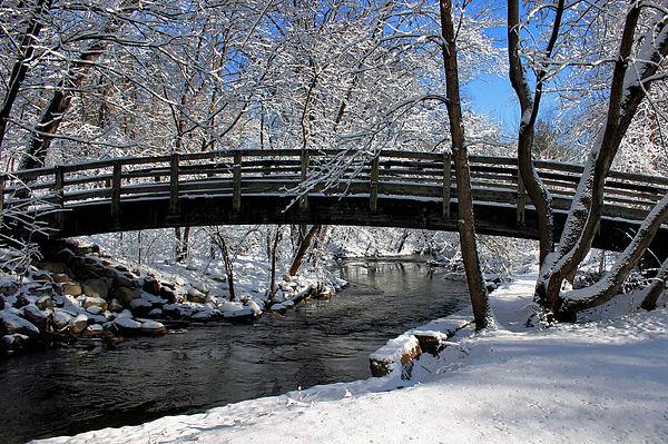 Kristin Elmquist - Bridge in Winter