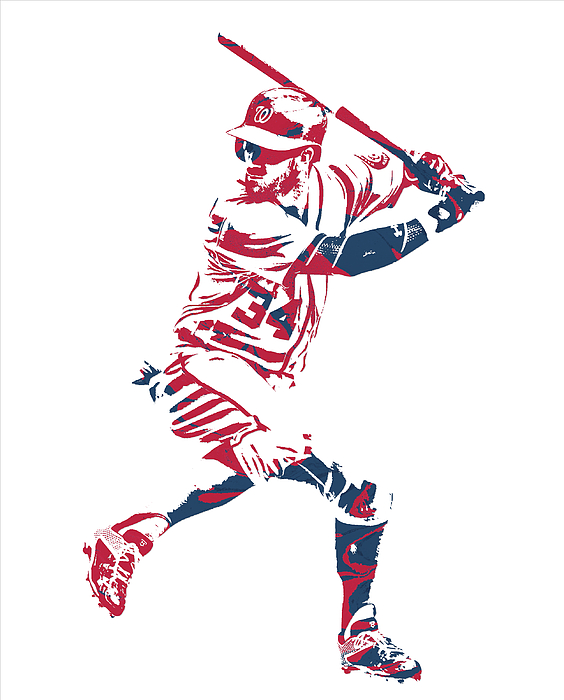 Bryce Harper Washington Nationals Pixel Art 41 Iphone X Case