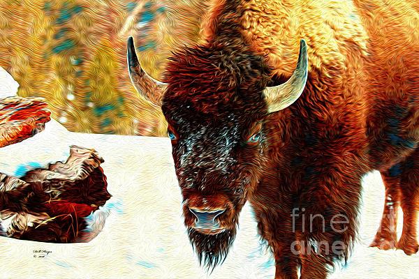 Bill And Deb Hayes - Buffalo Painting