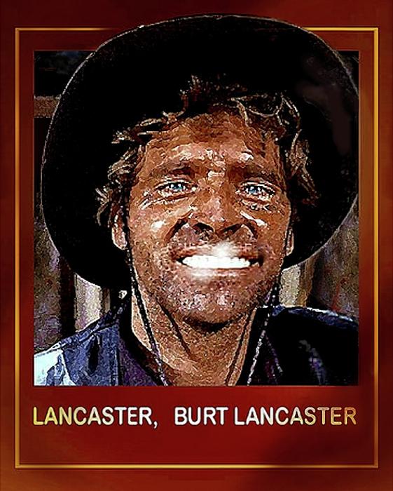 Hartmut Jager - Burt , Burt Lancaster