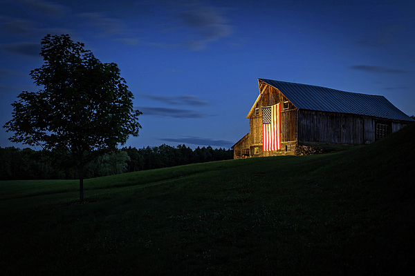 John Vose - Old Glory by Dusks Early Light