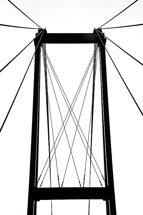 Debbie Oppermann - Cable Bridge Abstract