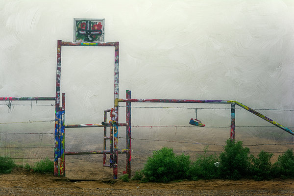 Joan Carroll - Cadillac Ranch Entry