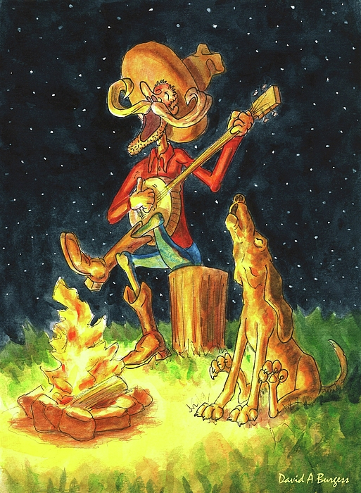 David Burgess - Campfire Songs