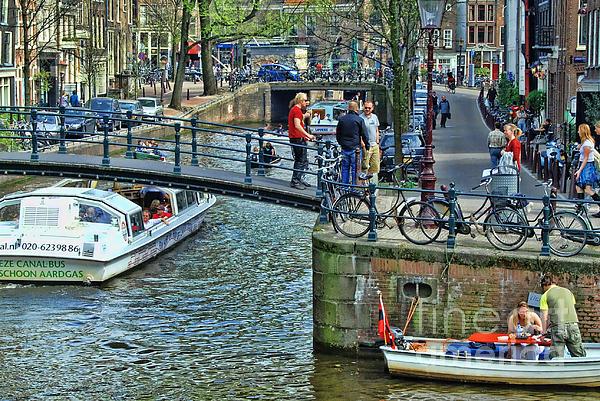 Allen Beatty - Amsterdam Canal Scene 1