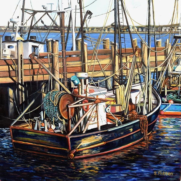 Eileen patten oliver website for Cape cod fishing party boats