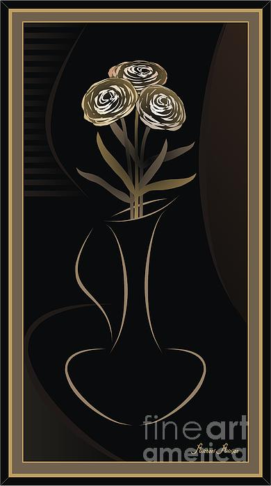Michael Mirijan - Carnations in a vase