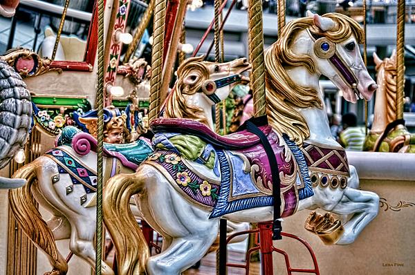 Lesa Fine - Carousel Dream - Horses